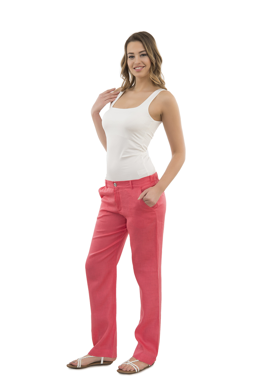 Hays Out Lino Kadın Keten Pantolonlu Takım