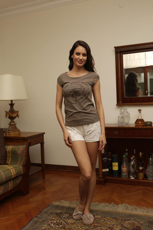 Hays Liss Penye Kadın Şortlu Pijama Takımı
