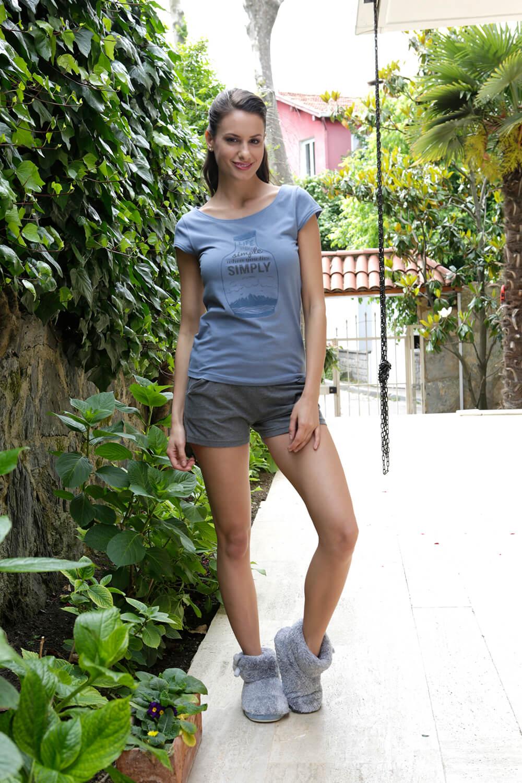 Hays Simply Penye Kadın Şortlu Pijama Takımı