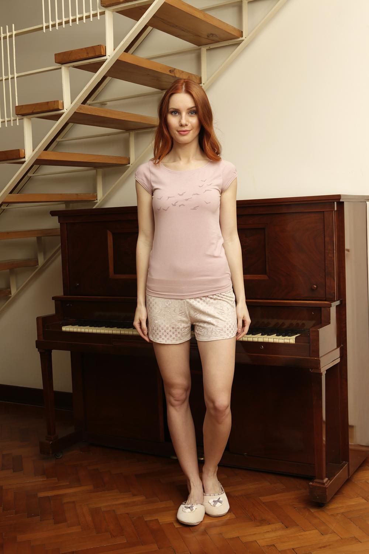 Hays Larin Penye Kadın Şortlu Pijama Takımı