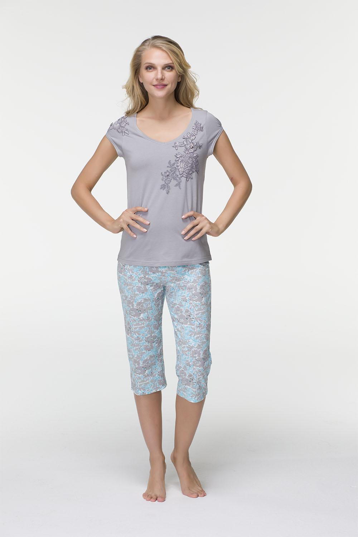 Hays Lola Kadın Penye Kapri Pijama Takımı