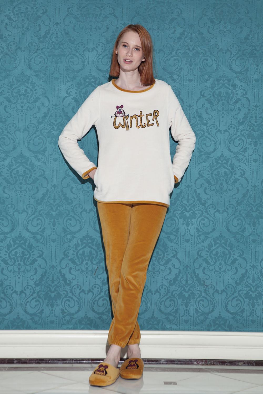 Hays Pingua Kadın Ultrasoft 2li Pijama Takımı