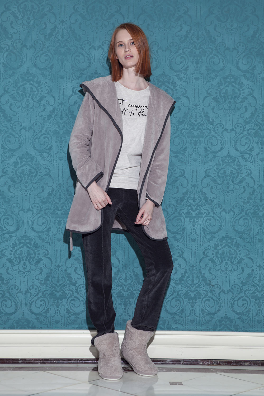 Hays Pingua Kadın Wellsoft Sabahlıklı 3lü Pijama Takımı