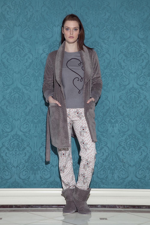 Hays Mona Kadın Wellsoft 3lü Pijama Takımı