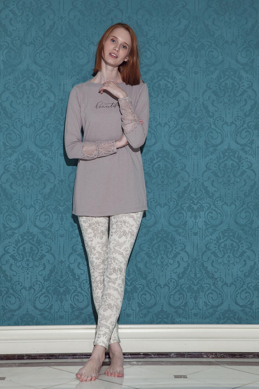 Hays Bloom Kadın 2li Uzun Kollu Pijama Takımı