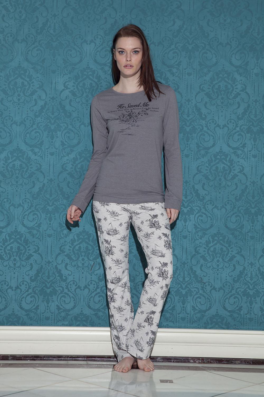 Hays Tica Kadın Uzun Pijama Takımı
