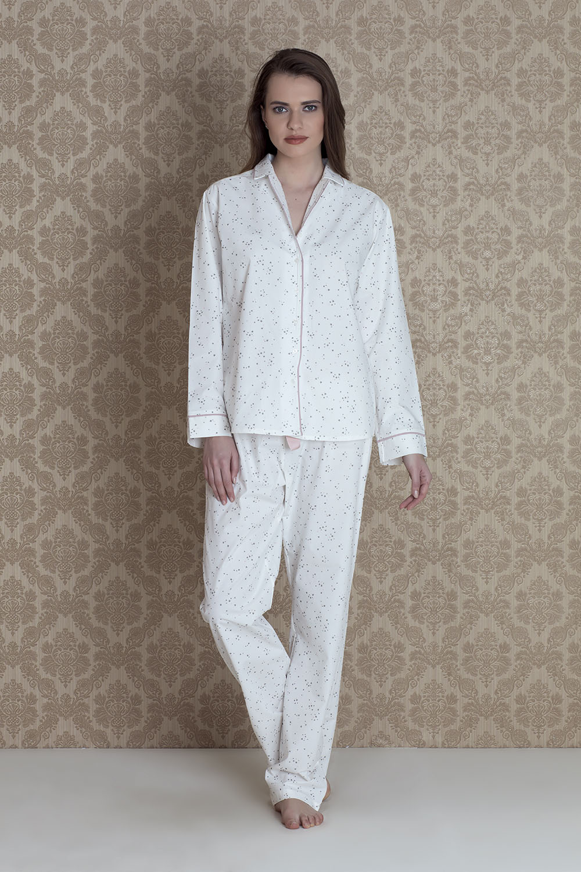 Hays Irene Kadın 2li Dokuma Pijama Takım