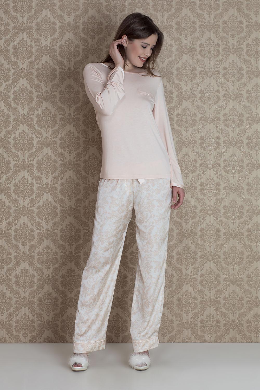 Hays Kadın Saten 2li Pijama Takımı
