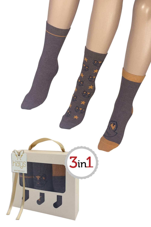 Hays Stellina 3lü Kadın Çorap