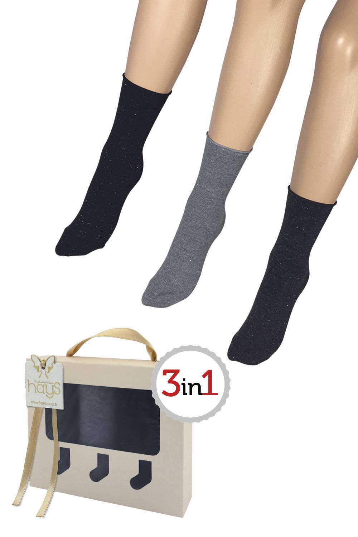 Hays Heaven 3lü Kadın Çorap