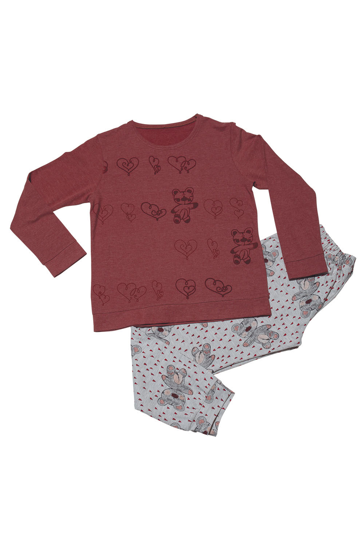 Hays Kids Kız Çocuk 2li Pijama Takımı