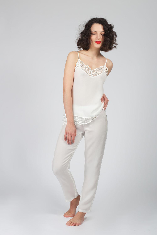 Hays Glamour Kadın Cupro Dokuma Pantolon