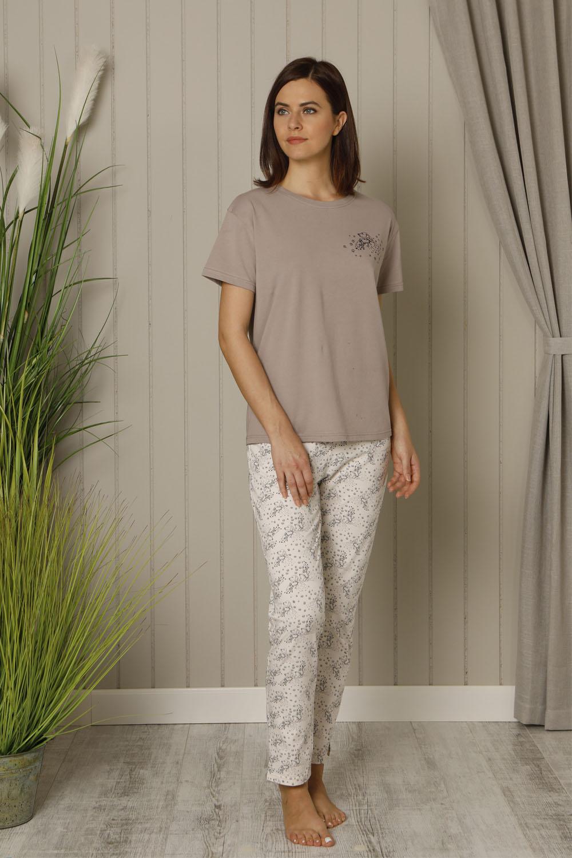 Hays Kosta Kadın Uzun Penye Pijama Takımı