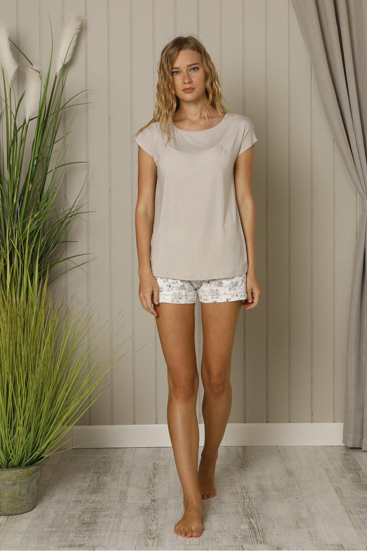 Hays Salva Kadın Kısa Kollu Penye Pijama Takımı