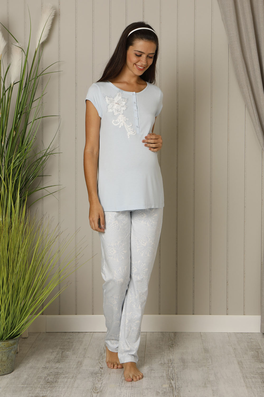 Hays Mom Kadın Kısa Kollu Penye Pijama Takımı