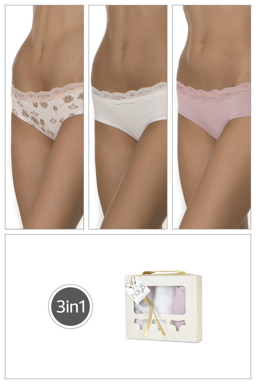 Hays Huma Kadın  Penye 3lü Paket Külot