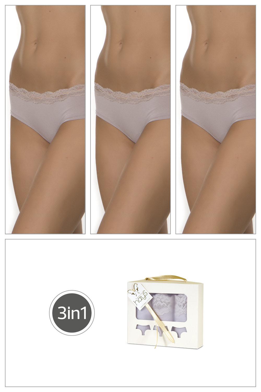 Hays Salva Kadın Penye 3lü Paket Külot