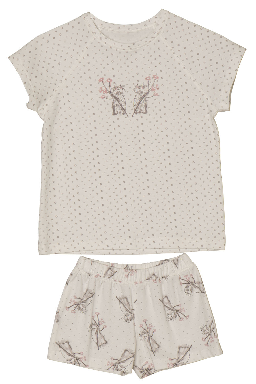 Hays Kids Kız Çocuk Penye Şortlu Pijama Takımı