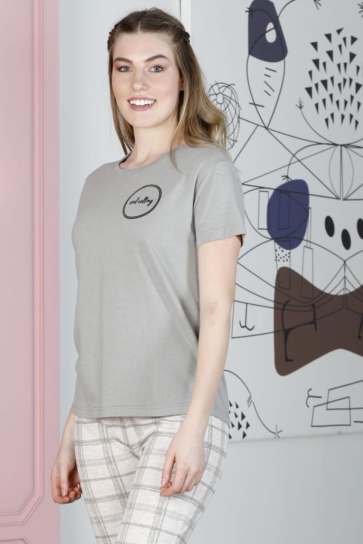 Hays Smart Kadın Ekose Midi Pijama Takımı