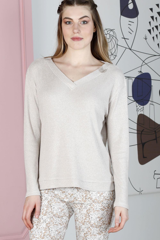 Hays Sensible Kadın Triko Üst Pijama Takımı