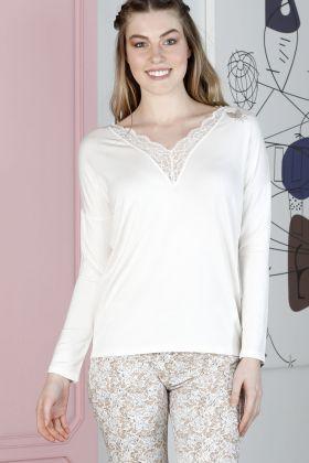 Hays Sensible Kadın Uzun Kollu Midi Pijama Takımı