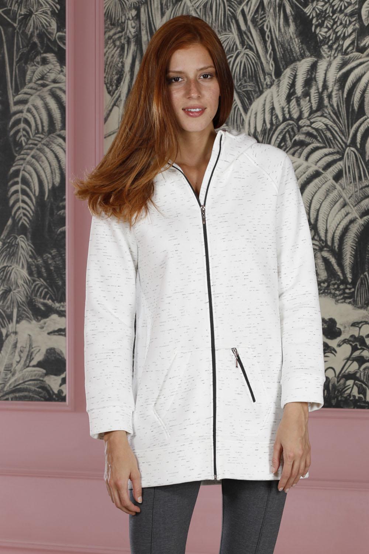 Hays Poet Kadın Fermuar Detaylı 3 İplik Üst Taytlı Pijama Takımı