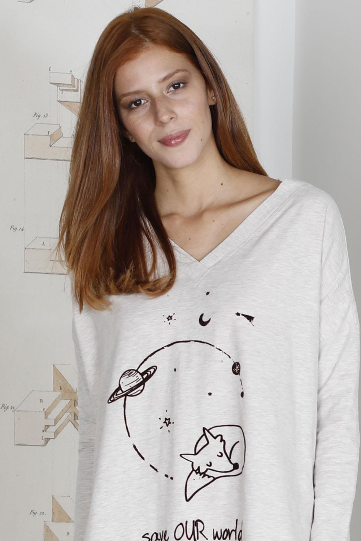 Hays Save Kadın Penye Taytlı Pijama Takımı