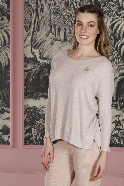 Hays Kadın Triko Uzun Pijama Takımı