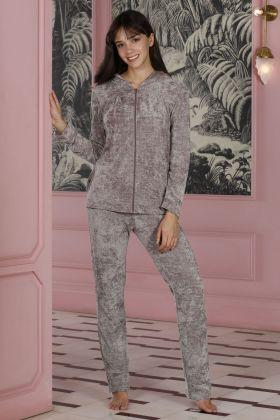 Hays Rebel Kadın Parlak Uzun Pijama Takımı