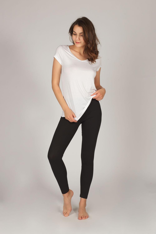 Hays Kadın Modal Kısa Kollu Tshirt