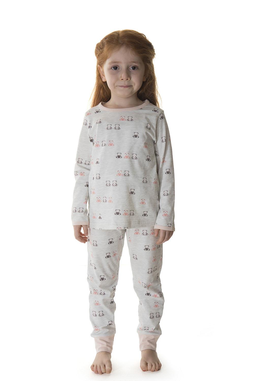 Hays Kids Kız Çocuk Penye 2li Uzun Pijama Takımı