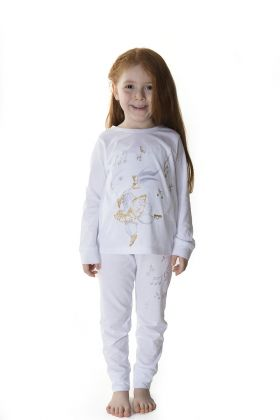 Hays Kids Kız Çocuk Penye Pijama Takımı