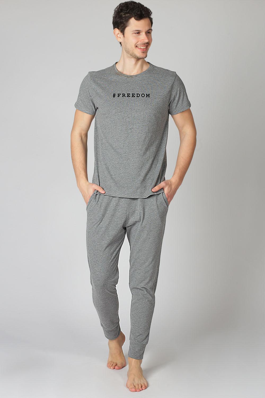 Hays Men Penye Erkek Kısa Kollu Pijama Takımı