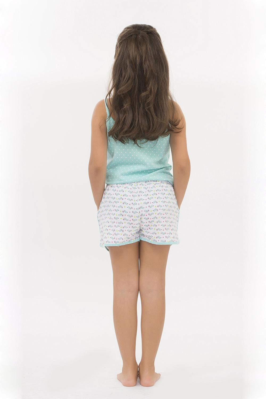 Hays Kids Penye Kız Çocuk Şortlu Pijama Takımı - 4952 Sarı