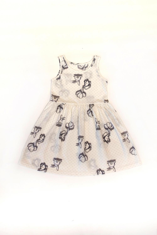 Hays Kız Çocuk Kolsuz Penye Elbise