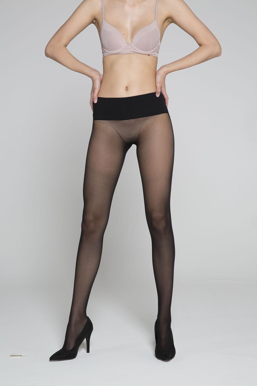 Gambetti - No Seam Kadın Dikişsiz Külotlu Çorap - 30 Den