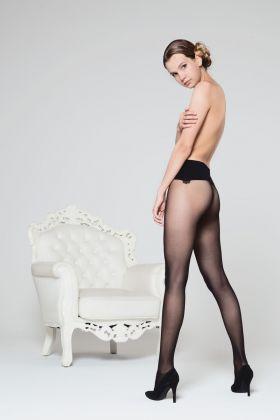 Gambetti - No Seam Kadın Dikişsiz Külotlu Çorap - 15 Den