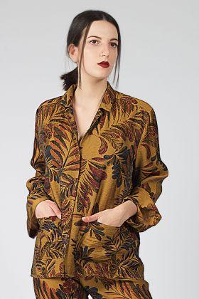 Hays Kadın Vegan Gömlek Model Pijama Üstü