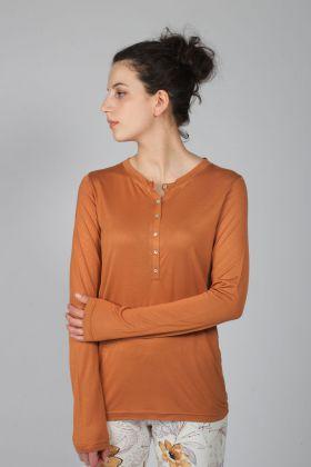 Hays Kadın Önden Düğmeli Modal Bluz
