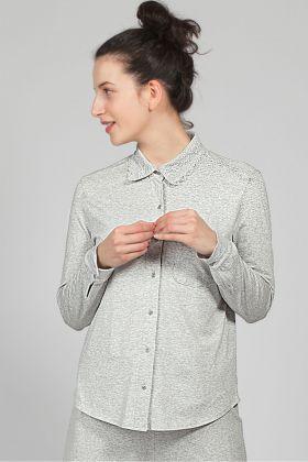 Hays Kadın Gömlek Modal Pijama Üstü
