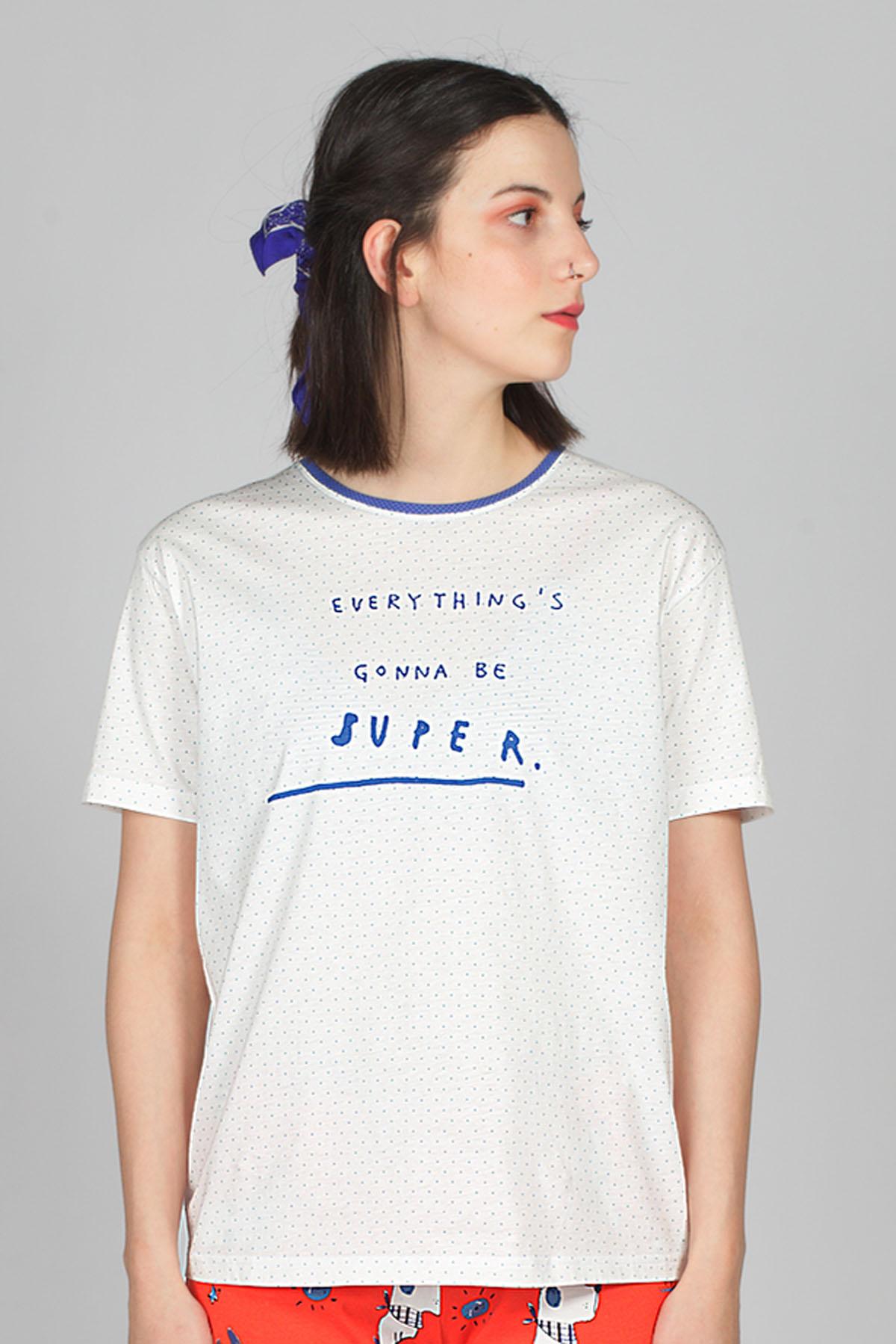 Hays Kadın Penye T-shirt