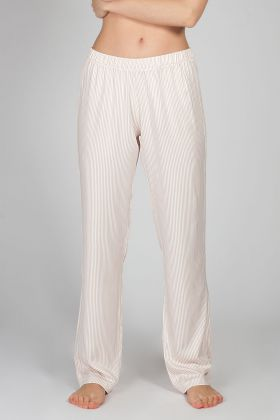 Kadın Pembe Dokuma Pantolon