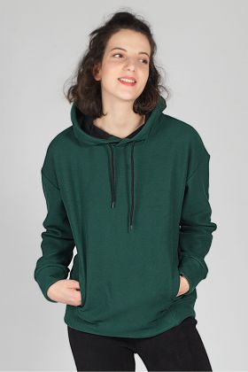 Hays Kadın Yeşil Sweatshirt