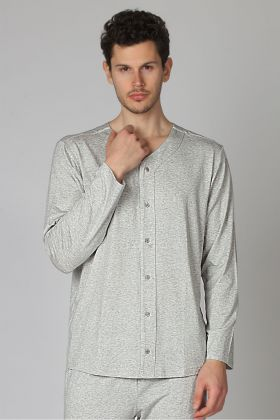 Hays Erkek Modal Önden Düğmeli Pijama Üstü