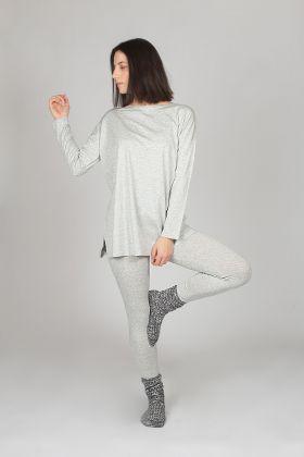 Hays Kadın Modal Taytlı Pijama Takımı