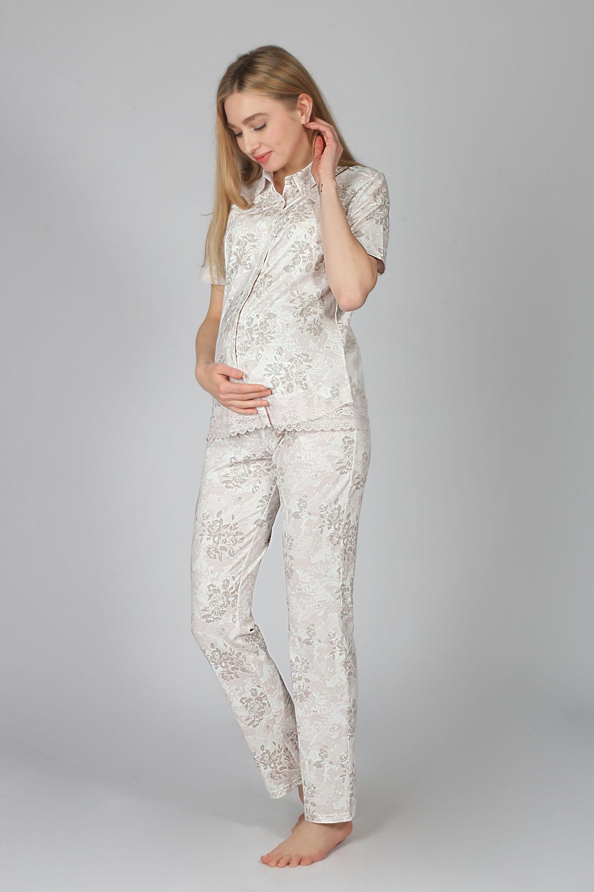 Hays Hamile Gömlek Pijama Takımı