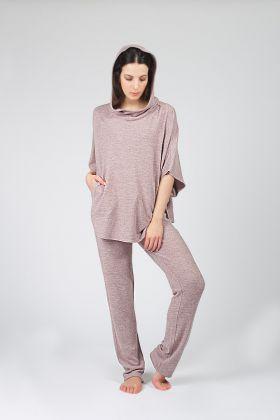 Hays Kadın Triko Panço Pijama Takımı