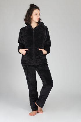 Hays Kadın Ultrasoft Fermuarlı Pijama Takımı