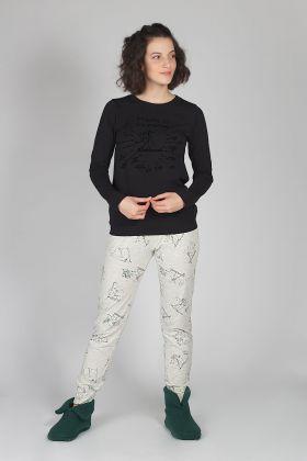 Hays Kadın Penye Pijama Takımı