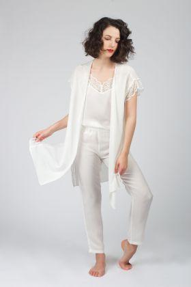 Hays Kadın Bridal Sabahlıklı Pijama Takımı